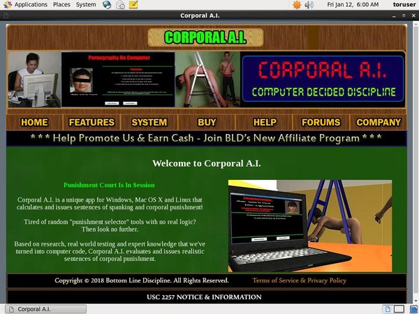 Corporal A.I. Paysites Reviews