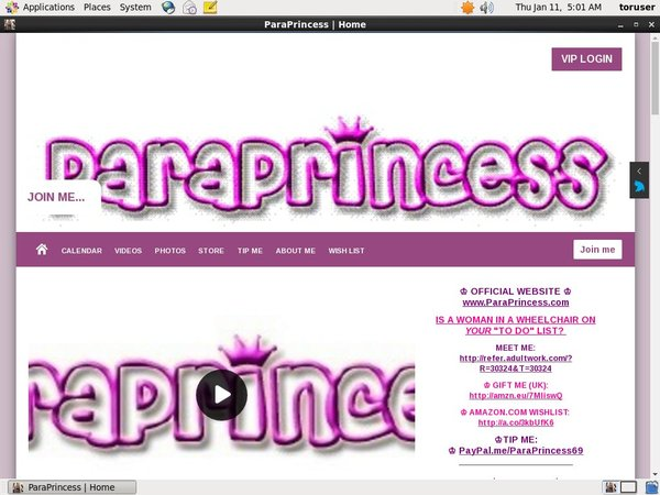 ParaPrincess Telephone Billing