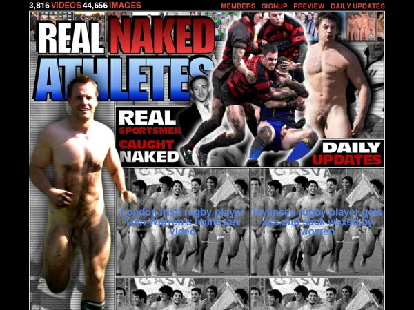 Real Naked Athletes Mit ELV