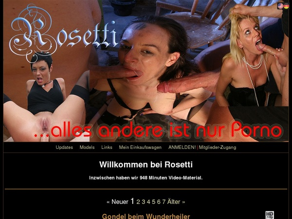 Rosetti.tv Signup Page
