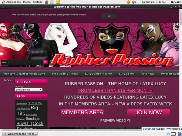 Rubber Passion Cash