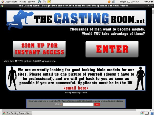 The Casting Room Free Acc