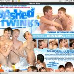 Washed Twinks Signup Page