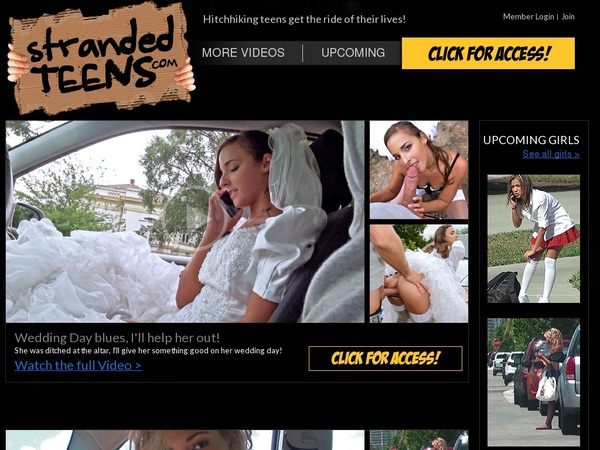 Stranded Teens Discount Join Page