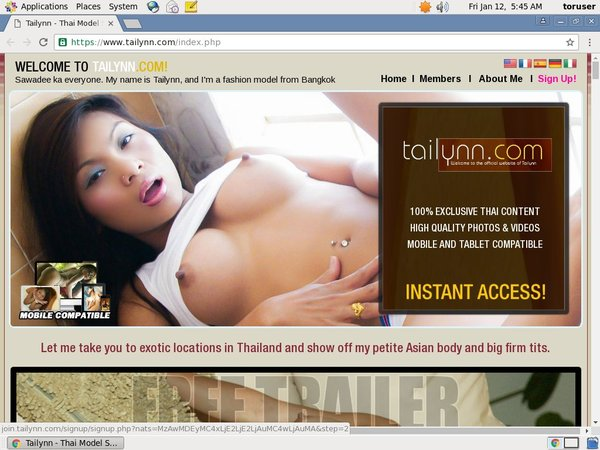 Tailynn Check Out