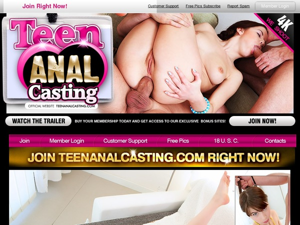 Get Into Teen Anal Casting Free
