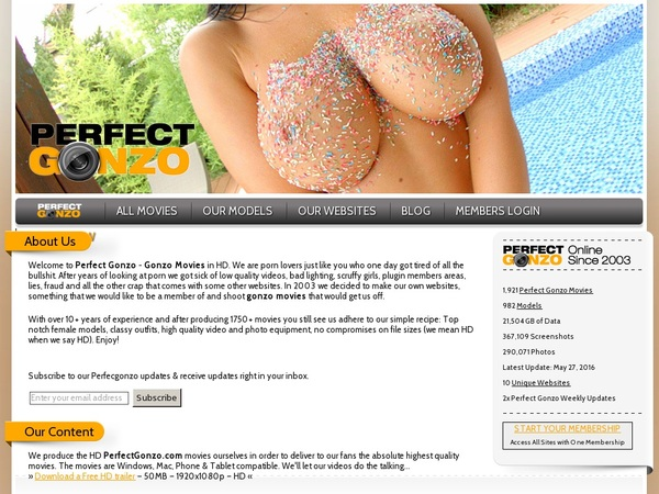 Free Perfect Gonzo Id And Password