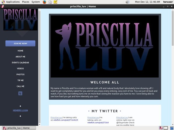 Priscilla Luv Videos For Free