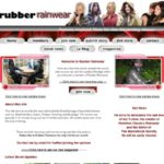 Sign Up Rubber Rainwear Free